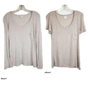Club Monaco Modal Tee T-Shirt Bundle XS